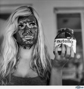 éjaculatio faciale au nutella