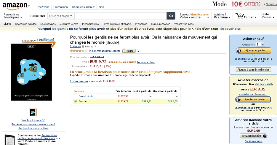 Roman punlié sur Amazon : comment faire